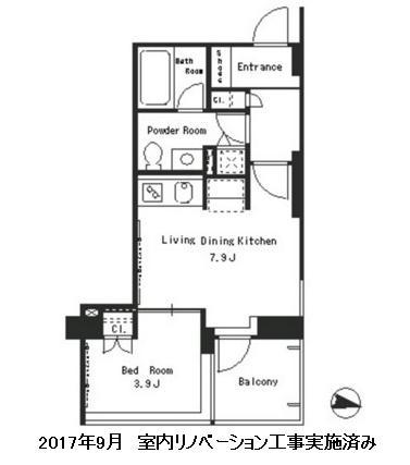 パークアクシス西麻布ステージ604号室