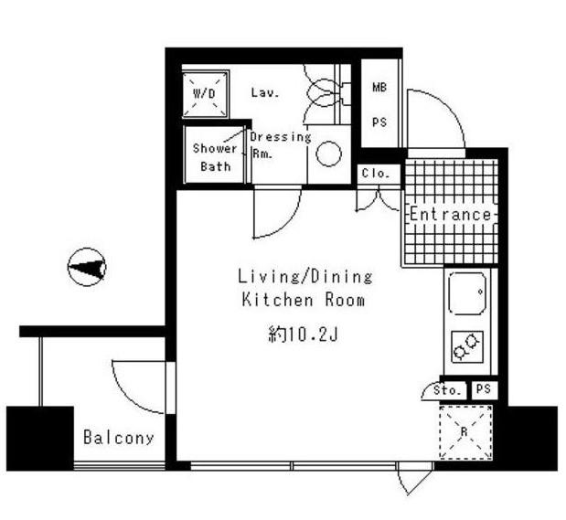 パークアクシス渋谷神南203号室