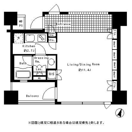 パークアクシス渋谷神南501号室