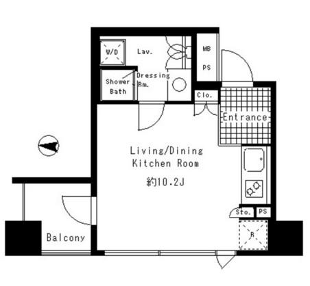 パークアクシス渋谷神南503号室