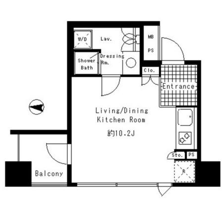 パークアクシス渋谷神南703号室