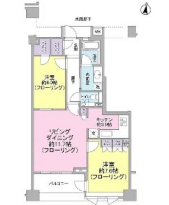 Brillia外苑出羽坂602号室