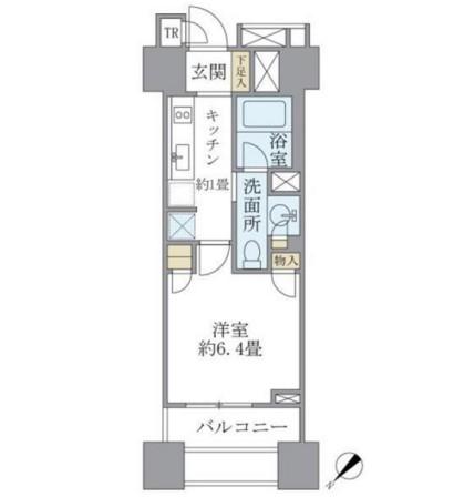 Brillia銀座id1211号室