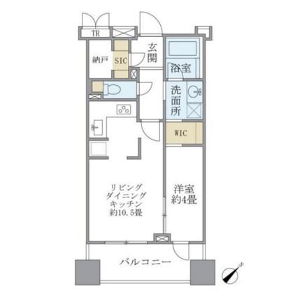 Brillia銀座id406号室
