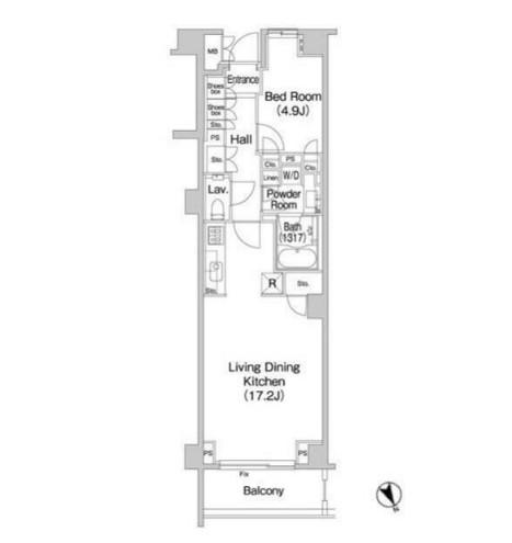 Brillia代官山プレステージ116号室