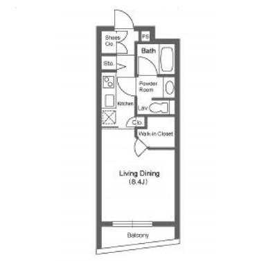 ストーリア神宮前311号室