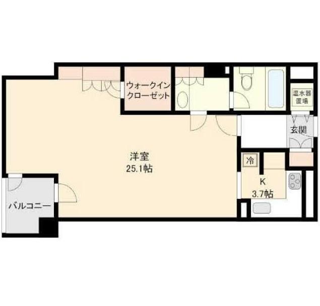 ストーリア赤坂210号室