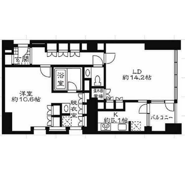 ストーリア赤坂404号室