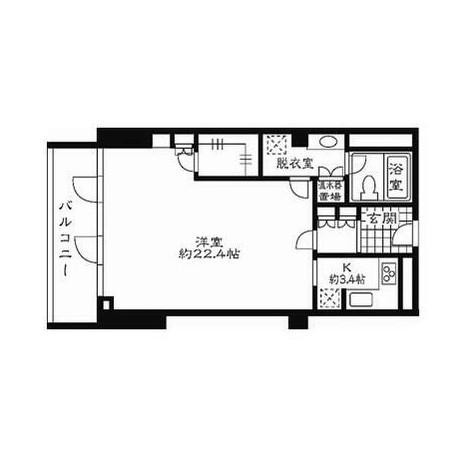 ストーリア赤坂508号室