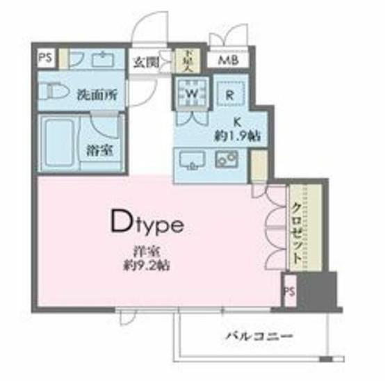 ドゥーエ南麻布804号室