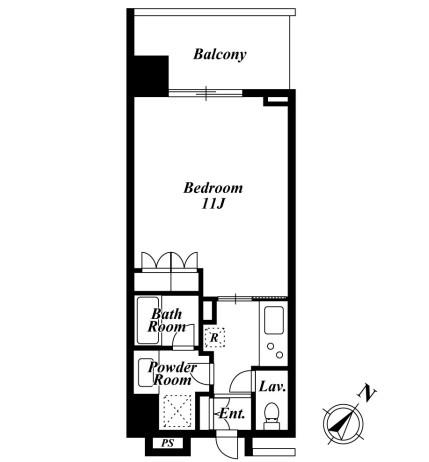 KDXレジデンス白金Ⅱ1202号室