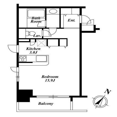 KDXレジデンス白金Ⅱ  206号室