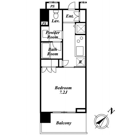 KDXレジデンス白金Ⅱ303号室