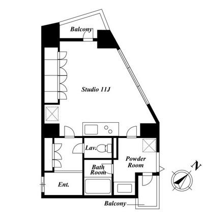 KDXレジデンス白金Ⅱ607号室
