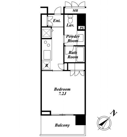 KDXレジデンス白金Ⅱ805号室