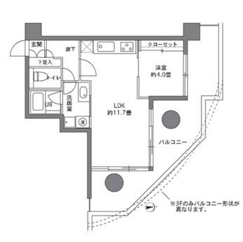 ストーリア白金台902号室