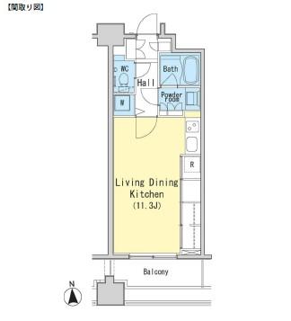 レジディア西麻布311号室