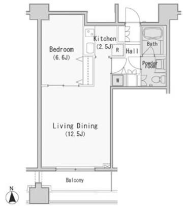 レジディア西麻布705号室