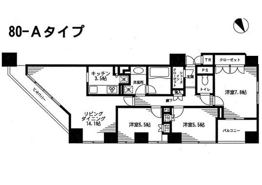 レジディア日本橋馬喰町1205号室