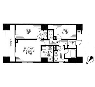 レジディア日本橋馬喰町607号室