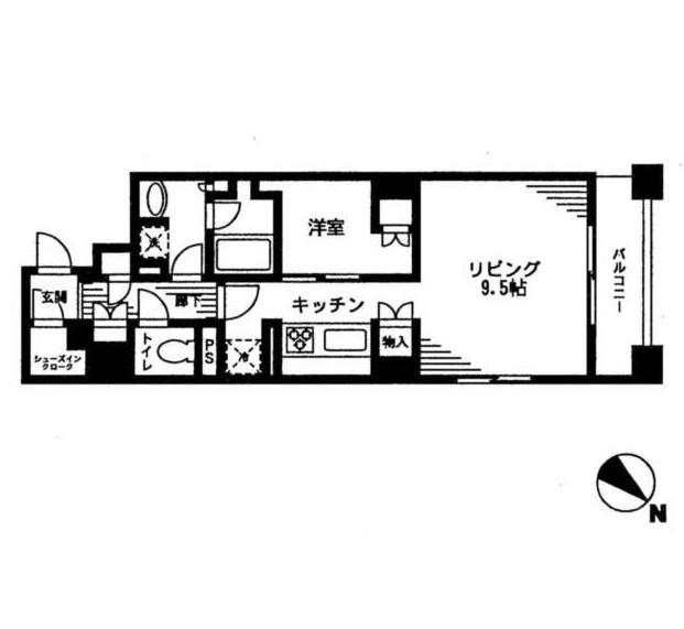 レジディア日本橋馬喰町608号室