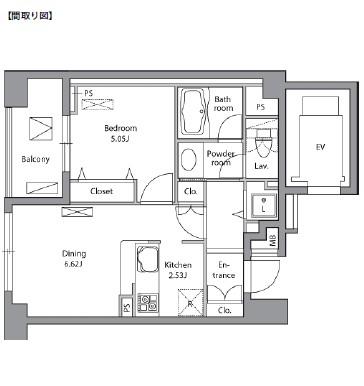 レジディア神田岩本町1501号室