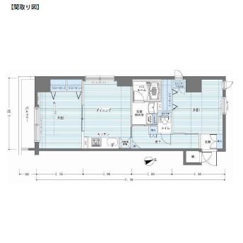 レジディア銀座東1001号室