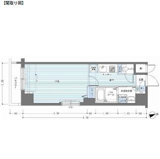 レジディア銀座東1102号室