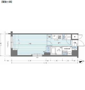 レジディア銀座東202号室