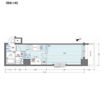 レジディア銀座東208号室