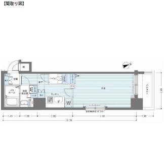 レジディア銀座東408号室