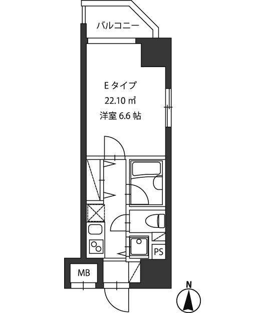 レジディア新御茶ノ水401号室