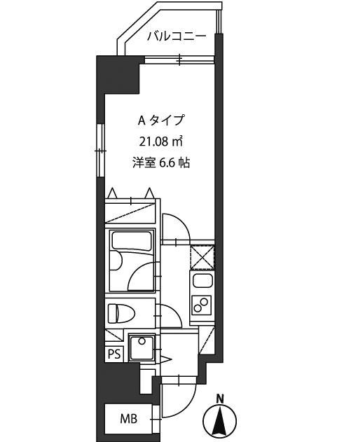 レジディア新御茶ノ水805号室