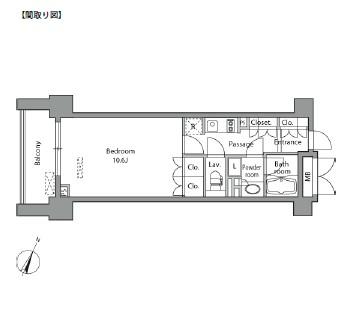 レジディア水道橋1203号室