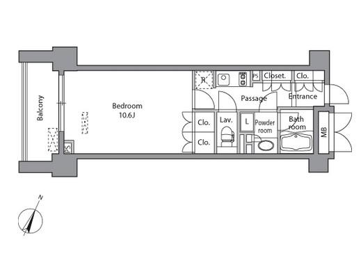 レジディア水道橋403号室