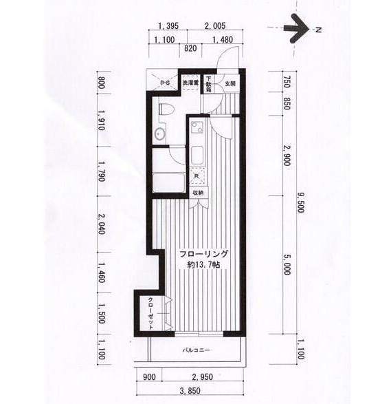 広尾レジデンスB204号室