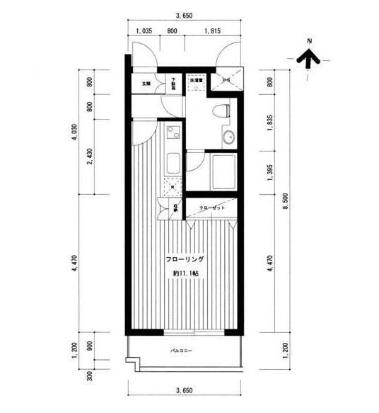 広尾レジデンスA207号室