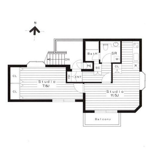 広尾レジデンスB301号室