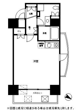 レジディア麻布十番Ⅱ401号室
