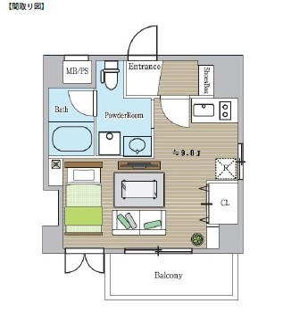 レジディア恵比寿603号室