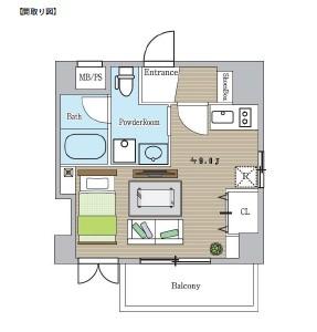 レジディア恵比寿703号室