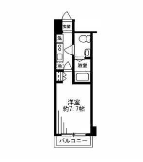レジディア新宿イースト408号室