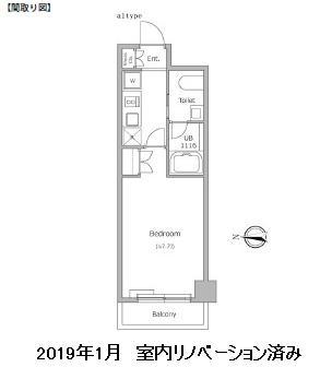レジディア新宿イースト503号室