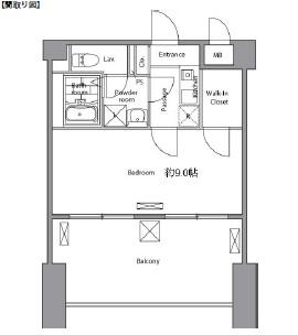 レジディア新宿イースト702号室