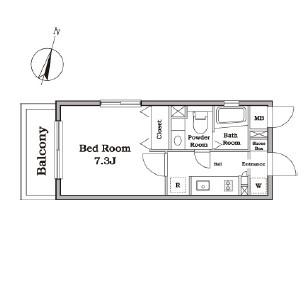 レジディア西新宿Ⅱ302号室