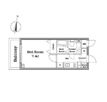 レジディア西新宿Ⅱ103号室