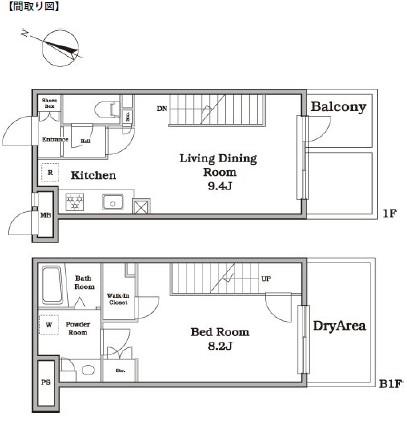 レジディア西新宿Ⅱ112号室