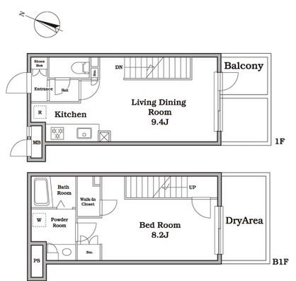レジディア西新宿Ⅱ114号室