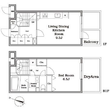 レジディア西新宿Ⅱ115号室