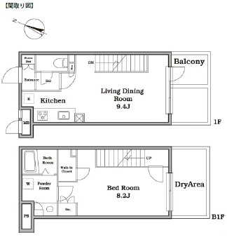 レジディア西新宿Ⅱ118号室